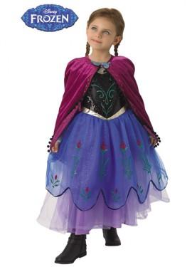 Disfraz de Anna Premium de Frozen para niña