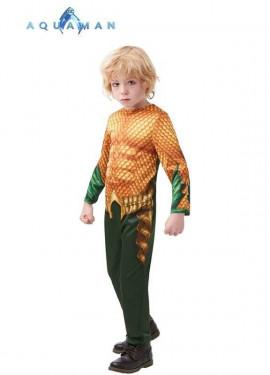 Costume classico aquaman per un ragazzo