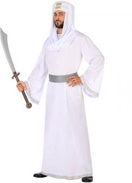 Disfraz de Árabe Blanco para hombre