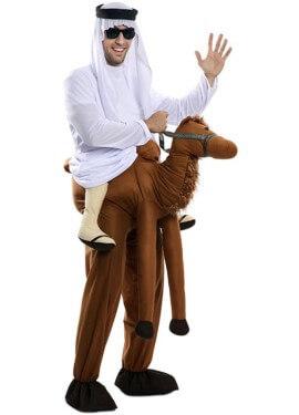 Costume da arabo montato a cammello per adulto