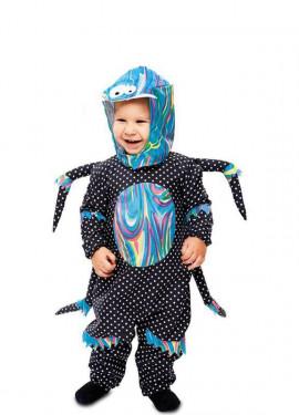 Costume da ragno multicolore per bambino