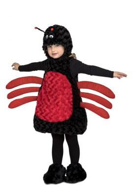 Disfraz de Araña Peluche para niños