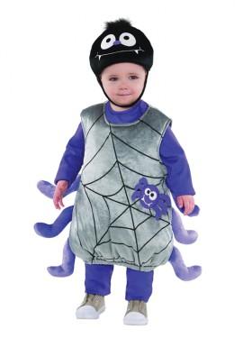 Disfraz de Arañita para bebés y niños para Halloween
