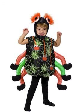 Disfraz de Arañita para niños