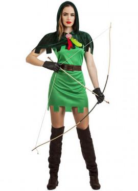 Disfraz de Robin Hood para mujer