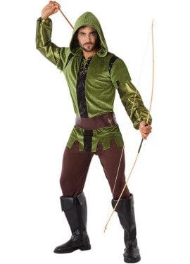Disfraz de Arquero de Bosque para hombre