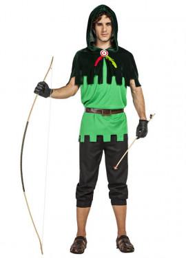 Disfraz de Arquero Diana para hombre