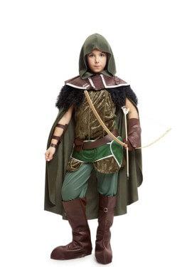Disfraz de Arquero Medieval Enda para niño