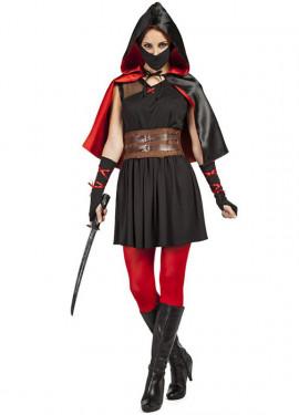Disfraz de Asesina Medieval para mujer