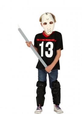 Disfraz de Asesino de Viernes 13 para niño