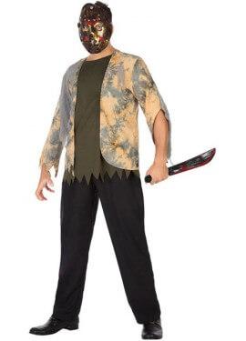 Disfraz de Psicópata Enmascarado para hombre