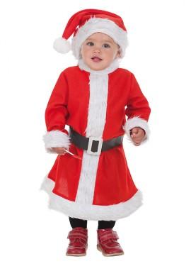 Disfraz de Baby Mamá Noel para bebé