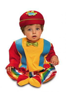 Disfraz de Baby Payaso para bebé