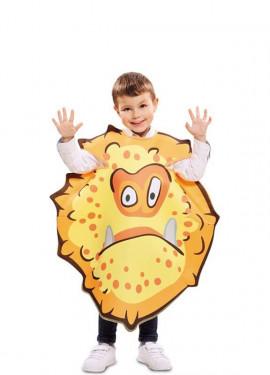 Disfraz de Bacteria naranja para niños