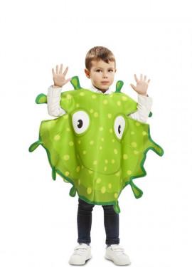 Déguisement de Bactérie Verte pour enfant