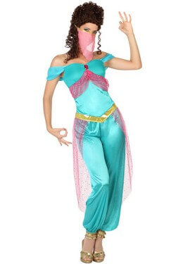 Disfraz de Bailarina Árabe para mujer