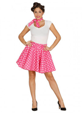 Disfraz de Bailarina Pin up rosa para mujer