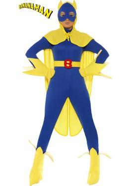 Disfraz de Bananaman Azul para mujer