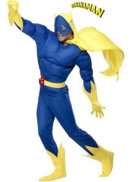 Disfraz de Bananaman Musculoso para hombre