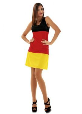 Disfraz de Bandera Alemana para mujer