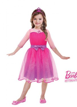Disfraz de Barbie princesa para niñas