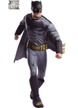Batman justice league costume deluxe per un uomo