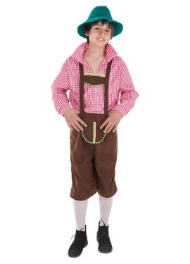 Disfraz de Bávaro para niño