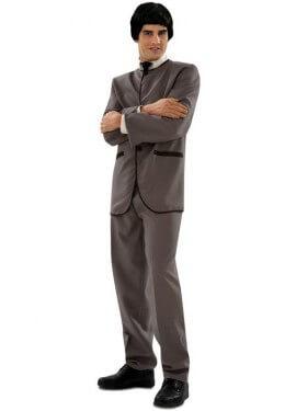 Disfraz de Beatle gris para hombre