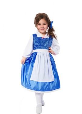 Disfraz de Bella de día para niña