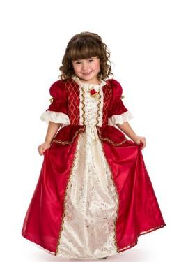 Disfraz de Bella de invierno para niña