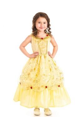 Disfraz de Bella de noche para niña