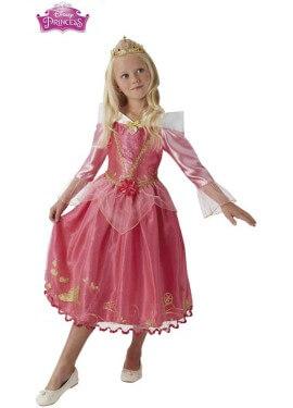 Disfraz de Bella Durmiente Deluxe para niña