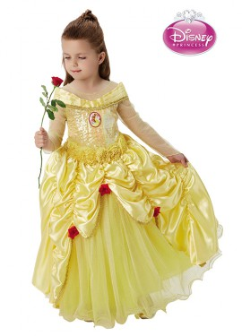 Disfraz de Bella premium de Disney para niña