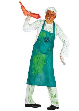 Disfraz de Biólogo Zombie para hombre