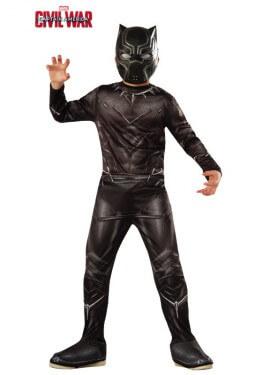 Disfraz de Black Panther Classic de Civil War para niño