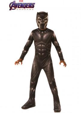 Disfraz de Black Panther Endgame Clásico para niño