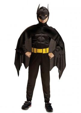Disfraz de Blackman Musculoso para niño