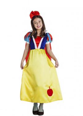 Disfraz de Princesa del bosque con Manzana para niña y bebé