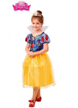 Costume da Biancaneve Deluxe per bambina