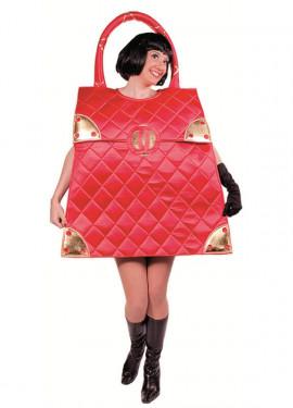 Déguisement de sac à main rouge pour adultes