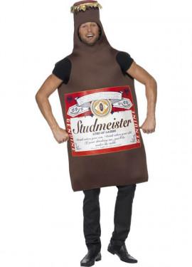 Disfraz de Botellín de Cerveza Studmeister para adultos