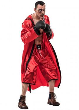 Disfraz de Boxeador Rojo para hombre
