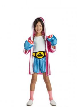 e0c56b6c7028f Disfraz de Boxeadora para niña