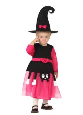 Disfraz de Bruja Araña rosa