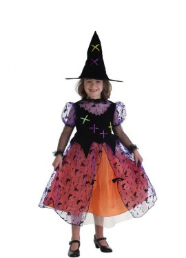 Disfraz de Bruja Colorín para niña