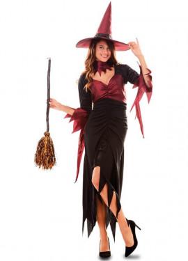 Disfraz de Bruja con Gargantilla para mujer