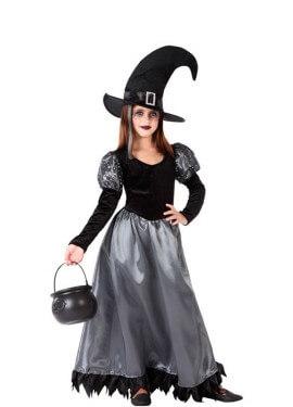 Disfraz de Bruja Elegante para adolescente