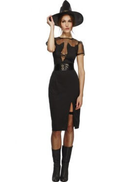 Disfraz de Bruja Gatitos para mujer