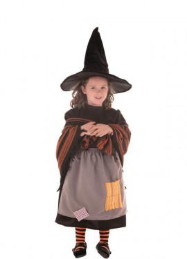 Disfraz de Bruja Malota para niña