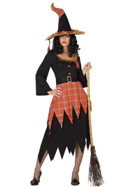 Disfraz de Bruja moderna para mujer para Halloween